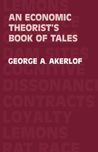 9780521269339: Economic Theorist's Book of Tales