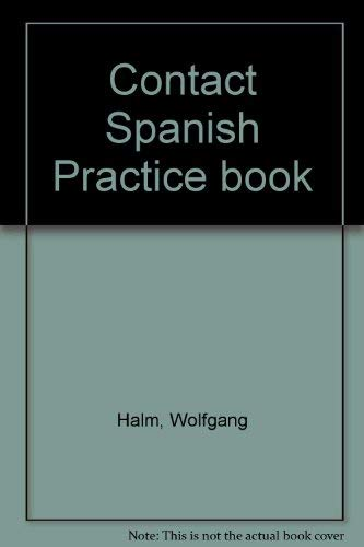 9780521269360: Contact Spanish Practice book: Practice Bk
