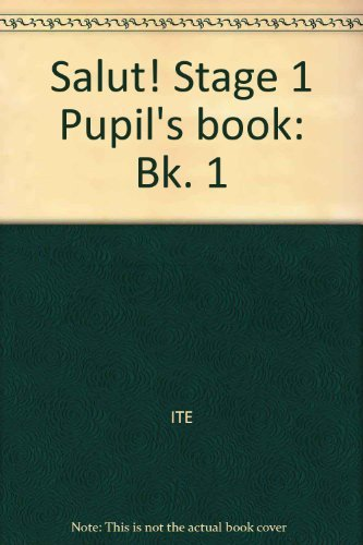9780521269544: Salut! Stage 1 Pupil's book (Bk. 1)