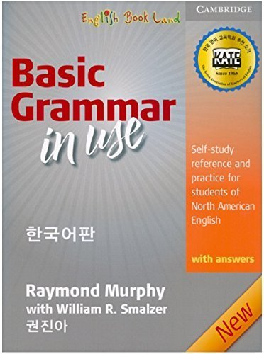 9780521269599: Basic Grammar in Use with Answers 3rd Edition Korean Version by William Smalzer Raymond Murphy (2011-05-03)