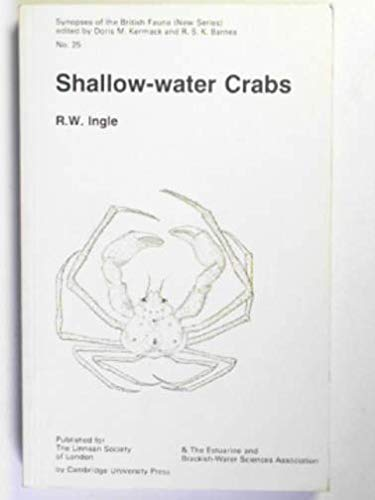 9780521271004: Shallow-Water Crabs (Synopses of the British Fauna)