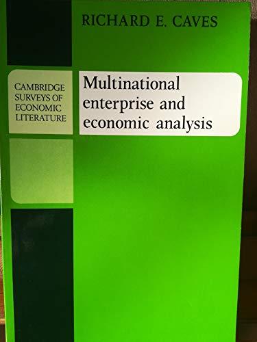 9780521271158: Multinational Enterprise and Economic Analysis (Cambridge Surveys of Economic Literature)