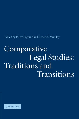 9780521272407: Comparative Legal Studies: Traditions and Transitions