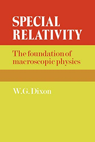 9780521272414: Special Relativity: The Foundation of Macroscopic Physics