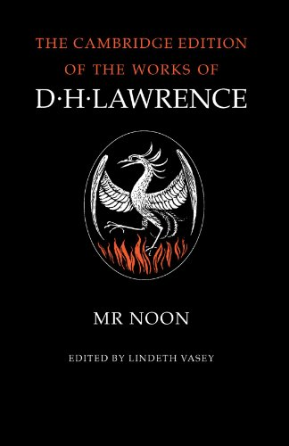 9780521272476: Mr. Noon (The Cambridge Edition of the Works of D. H. Lawrence)