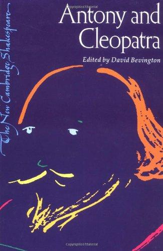 9780521272506: Antony and Cleopatra (The New Cambridge Shakespeare)