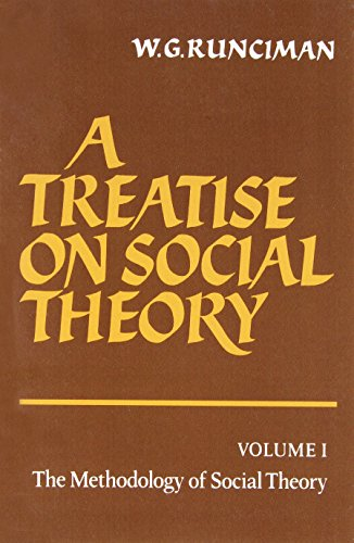9780521272513: A Treatise on Social Theory: Volume 1