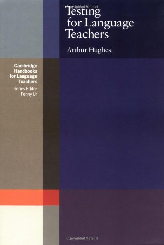 9780521272605: Testing for Language Teachers (Cambridge Handbooks for Language Teachers)