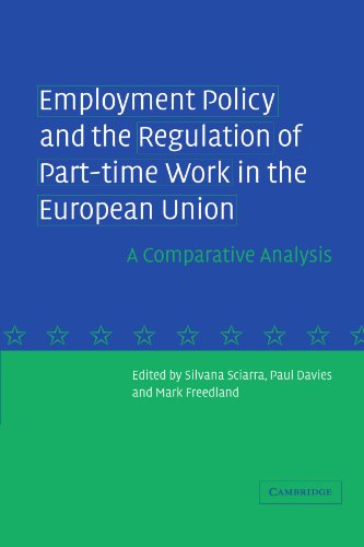 9780521272872: Employment Policy and the Regulation of Part-time Work in the European Union: A Comparative Analysis