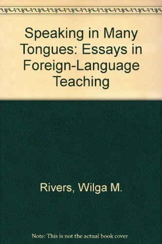 9780521274180: Speaking in Many Tongues: Essays in Foreign-Language Teaching (Cambridge Language Teaching Library)
