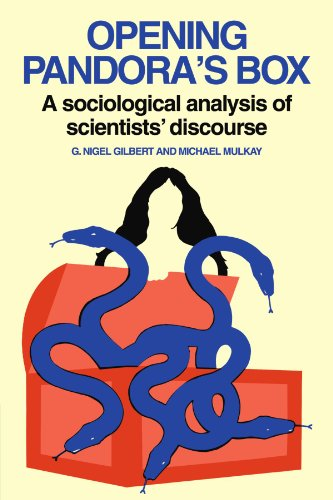 9780521274302: Opening Pandora's Box: A Sociological Analysis of Scientists' Discourse