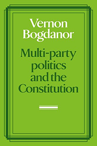 9780521275262: Multi-party Politics and the Constitution