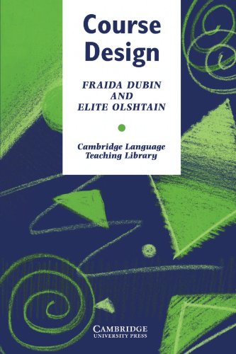 9780521276429: Course Design Paperback: Developing Programs and Materials for Language Learning (Cambridge Language Teaching Library)