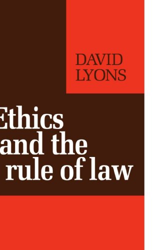 9780521277129: Ethics and the Rule of Law