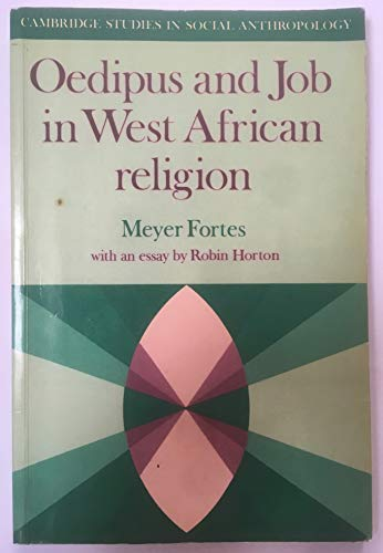 9780521277198: Oedipus and Job in West African Religion (Cambridge Studies in Social and Cultural Anthropology)