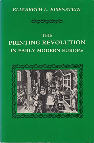 9780521277358: Printing Revolution Early Modern Europe