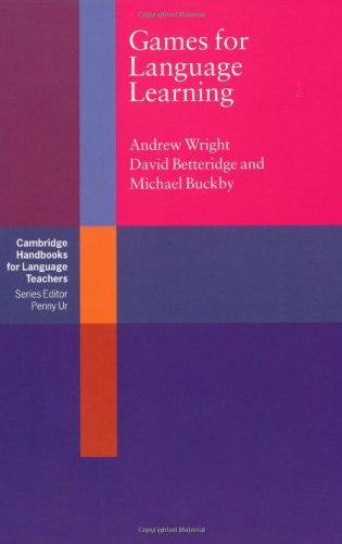 9780521277372: Games for Language Learning (Cambridge Handbooks for Language Teachers)