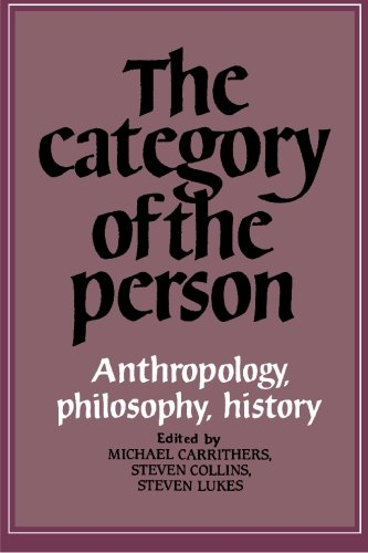 9780521277570: The Category of the Person: Anthropology, Philosophy, History