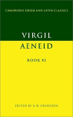 9780521278164: Virgil: Aeneid Book XI (Cambridge Greek and Latin Classics)