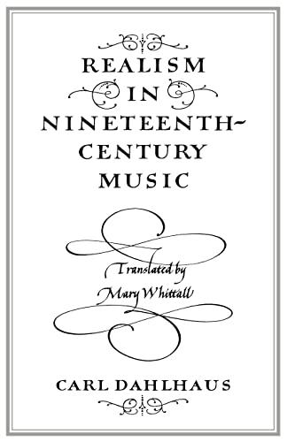 9780521278416: Realism in Nineteenth-Century Music