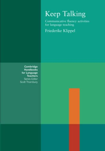 9780521278713: Keep Talking: Communicative Fluency Activities for Language Teaching