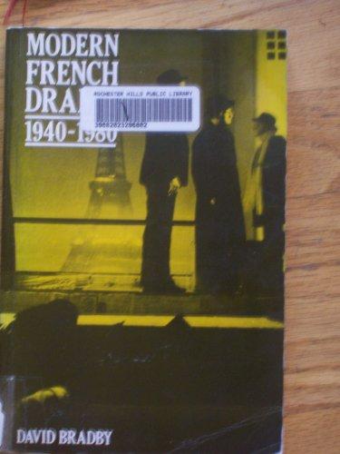 9780521278812: Modern French Drama 1940-1980