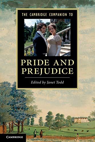 9780521279581: The Cambridge Companion to 'Pride and Prejudice' (Cambridge Companions to Literature)