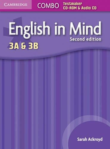 9780521279826: English in Mind Levels 3A and 3B Combo Testmaker CD-ROM and Audio CD