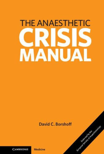 9780521279864: Anaesthetic Crisis Manual