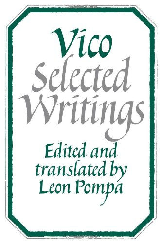 9780521280143 Vico Selected Writings AbeBooks Leon