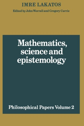 9780521280303: Mathematics, Science and Epistemology: Volume 2, Philosophical Papers Paperback: Philosophical Papers v. 2 (Philosophical Papers (Cambridge))