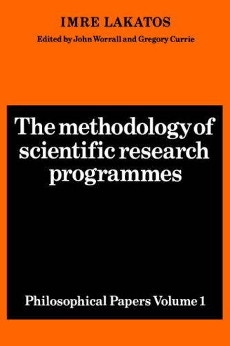 9780521280310: The Methodology of Scientific Research Programmes: Philosophical Papers Volume 1: v. 1 (Philosophical Papers (Cambridge))