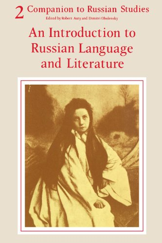 9780521280396: 002: Companion to Russian Studies: Volume 2, An Introduction to Russian Language and Literature