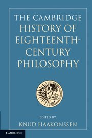 9780521280884: The Cambridge History of Eighteenth-Century Philosophy 2 Volume Paperback Boxed Set