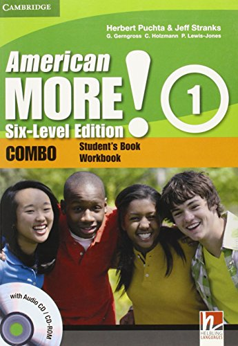 9780521280938: American More! Six-Level Edition Level 1 Combo with Audio CD/CD-ROM