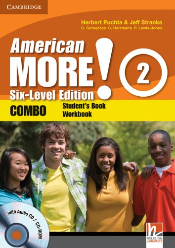 9780521280969: American More! 2 Six-Level Edition Combo with Audio CD/CD-ROM