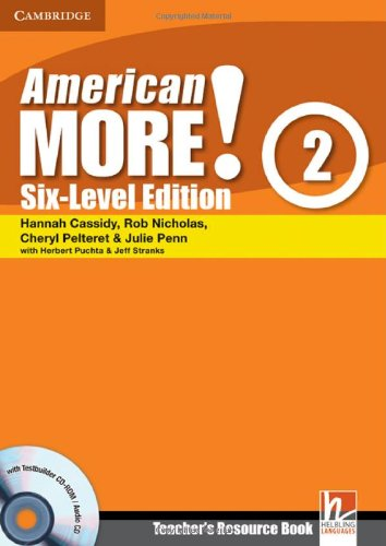 9780521280983: American More! Six-Level Edition Level 2 Teacher's Resource Book with Testbuilder CD-ROM/Audio CD