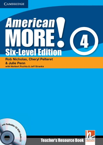 9780521281034: American More! 4 Six-Level Edition Teacher's Resource Book with Testbuilder CD-ROM/Audio CD