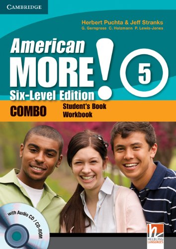 American More! Six-Level Edition Level 5 Combo with Audio CD/CD-ROM: Puchta, Herbert