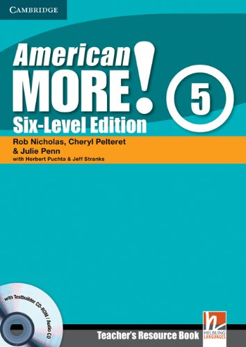 9780521281065: American More! 5 Six-Level Edition Teacher's Resource Book with Testbuilder CD-ROM/Audio CD