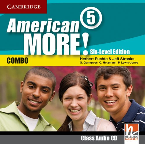 9780521281072: American More! Six-Level Edition Level 5 Class Audio CD