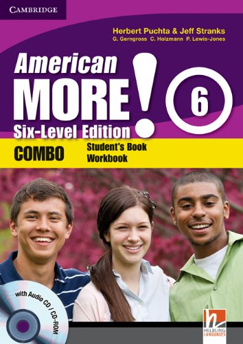 9780521281089: American More! 6 Six-Level Edition Combo with Audio CD/CD-ROM