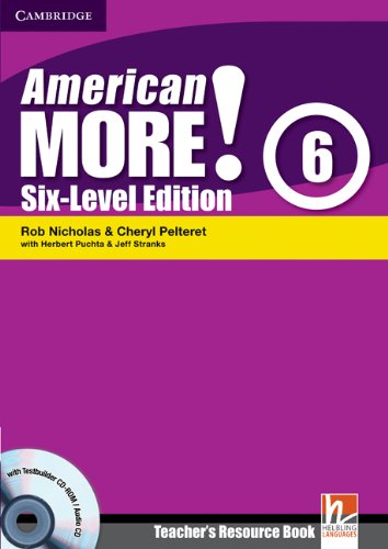 American More! Six-Level Edition Level 6 Teacher's Resource Book with Testbuilder CD-ROM/...