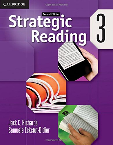 9780521281119: Strategic Reading 2nd 3 Student's Book
