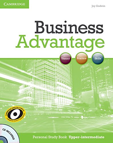 9780521281300: Business Advantage Upper-intermediate Personal Study Book with Audio CD
