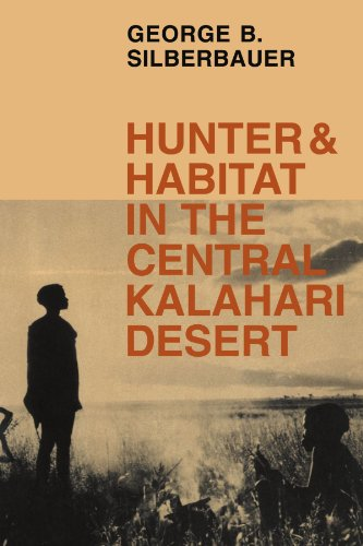 Hunter & Habit In The Central Kalahari Desert