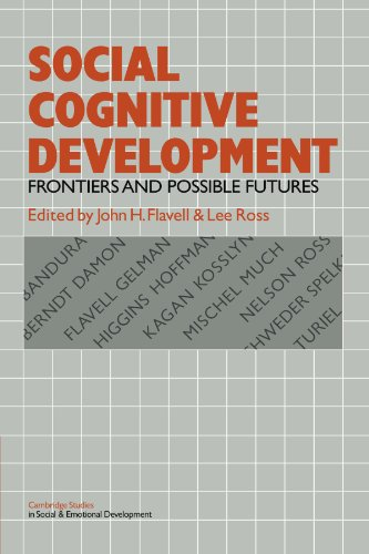 9780521281560: Social Cognitive Development: Frontiers and Possible Futures (Cambridge Studies in Social and Emotional Development)