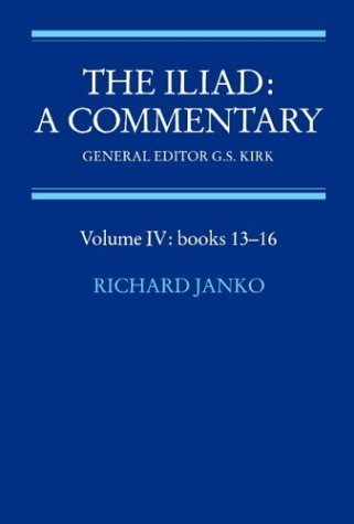 9780521281744: The Iliad: A Commentary: Volume 4, Books 13-16 Paperback: Books 13-16 Vol 4