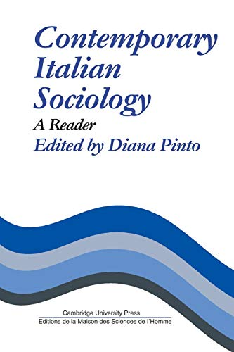 9780521281911: Contemporary Italian Sociology: A Reader