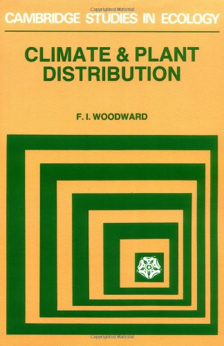 9780521282147: Climate and Plant Distribution